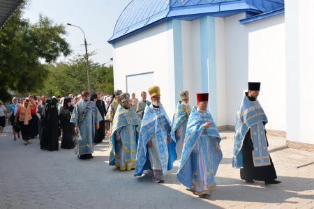 Празднование пятой годовщины со дня возрождения Благовещенской женской обители