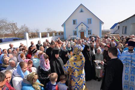 Престольный праздник в Херсонском Благовещенском женском монастыре