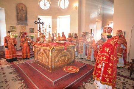 Престольный праздник  Екатерининского собора города Херсона