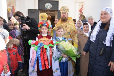 Блаженнейший Митрополит Онуфрий посетил Херсонскую епархию