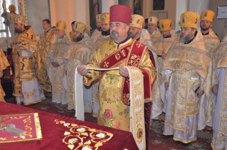Праздничное богослужение в день памяти Апостола и Евангелиста Иоанна Богослова
