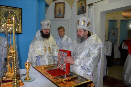 Пасхальное богослужение в Благовещенском женском монастыре