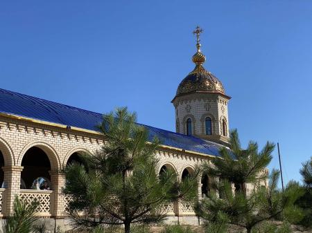 Митрополит Иоанн принял участие в торжествах в Свято-Покровском скиту Одесской епархии